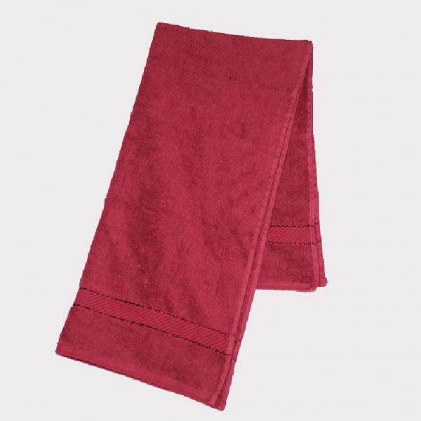 Handuk Pink Tua